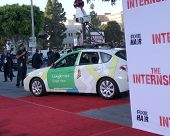 LOS ANGELES - MAY 29:  Google Car arrives at the