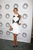 LOS ANGELES - JUN 10:  Sasha Pieterse arrives at the Pretty Little Liars at Paley Event at the Paley
