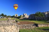 Tulum The One Of Most Famous Landmark In The Maya World poster