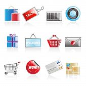 Simple Shopping Icons