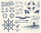 stock photo of anchor  - Use this stuff everywhere you need nautical atmosphere - JPG