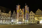 Bad Urach At Night