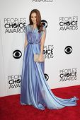 LOS ANGELES - JAN 8:  Alyssa Campanella at the People's Choice Awards 2014 Arrivals at Nokia Theater