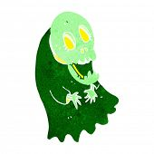 image of ghoul  - cartoon spooky ghoul - JPG