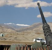 picture of humvee  - This was taken while on patrol in Eastern Afghanistan during the late fall season - JPG