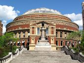 foto of knightsbridge  - The Royal Albert Hall opened by Queen Victoria in 1871 is Britain - JPG