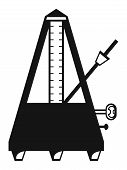 pic of musical scale  - Musical metronome - JPG