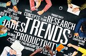 stock photo of globalization  - Global Shares Trends Ideas Sales Solution Expertise Concept - JPG