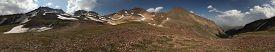 stock photo of armenia  - Volcanic crater of Mount Aragats  - JPG