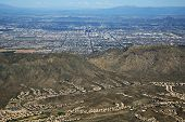 pic of piestewa  - Zoomed in aerial view of Phoenix - JPG