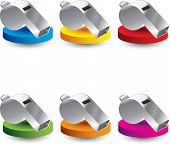 multi color presentation for whistles