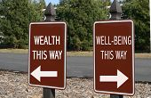 Wealth Or Well-Being? You Decide
