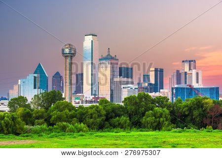Dallas Texas USA downtown city