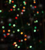 Bokeh Light Vintage Background, Defocused Bokeh Lights, Bokeh With Multi Colors, Festive Lights Boke poster