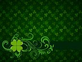 Saint Patricks Day Frame Background poster