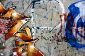 picture of gangsta  - Detail of a painting - JPG