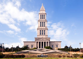 picture of freemasons  - Washington Masonic Temple and memorial tower in Alexandria Virginia - JPG