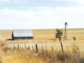 foto of farm landscape  - farm landscape - JPG
