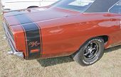 1969 Dodge Coronet Rt Back Panel