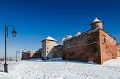 Back View Of Citadel Of Brasov, Romania