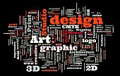 stock photo of discipline  - Graphic design studio - JPG