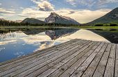 Vermilion Lakes Dock Side