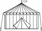 stock photo of peg  - circus tent - JPG