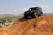 stock photo of  jeep  - BAFOKENG  MAY 2013 - JPG