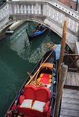 stock photo of gondolier  - Photo of a typical Gondolier in Venice - JPG
