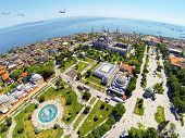 picture of paysage  - Sultanahmet Square and Blue Mosque in Istanbul - JPG
