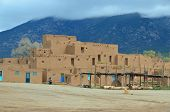 pic of pueblo  - The Taos Pueblo - JPG