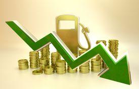 picture of fuel economy  - price of fuel decreases  - JPG