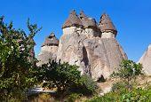 foto of chimney rock  - Fairy chimneys  - JPG