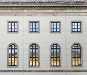 picture of mater  - historic facade of Humboldt university in Berlin from 1810  - JPG