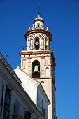 image of senora  - The Parish Church of our Lady of the O Sanlucar de Barrameda Cadiz Province Andalusia Spain Western Europe - JPG