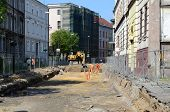 pic of reconstruction  - Reconstruction of the street  - JPG