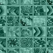 image of peculiar  - Abstract seamless pattern consisting of many unusual stories - JPG