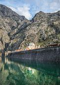 foto of sea-scape  - The sea gate of Kotor Montenegro the Balkan peninsula - JPG