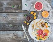 picture of kumquat  - Spring vitamin breakfast set - JPG