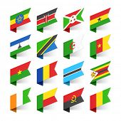 image of flags world  - Flags of the World - JPG