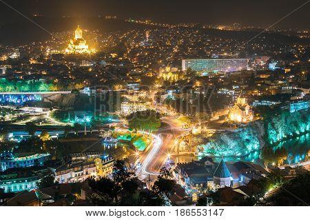 Tbilisi Georgia Cityscape