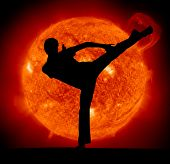 foto of karate-do  - Martial art - JPG