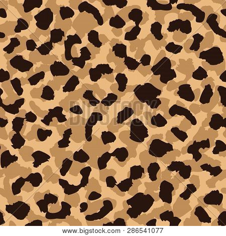 Leopard Skin Seamless Pattern Abstract