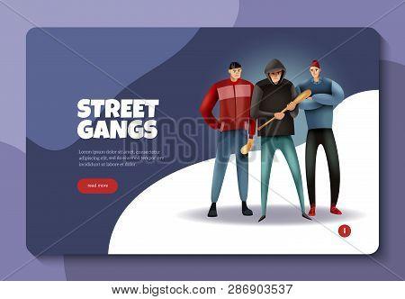 Social Crime Youth Street Gangs