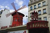 stock photo of moulin rouge  - Wide - JPG