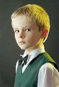 Boy's Portrait poster