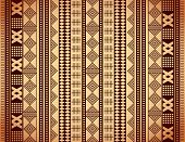 picture of sackcloth  - Brown ethnic texture - JPG