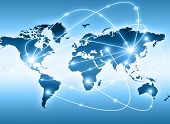 pic of continents  - Best Internet Concept of global business from concepts series - JPG