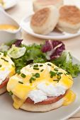 image of butter-lettuce  - Eggs Benedict - JPG