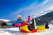 picture of sleigh ride  - Winter fun - JPG